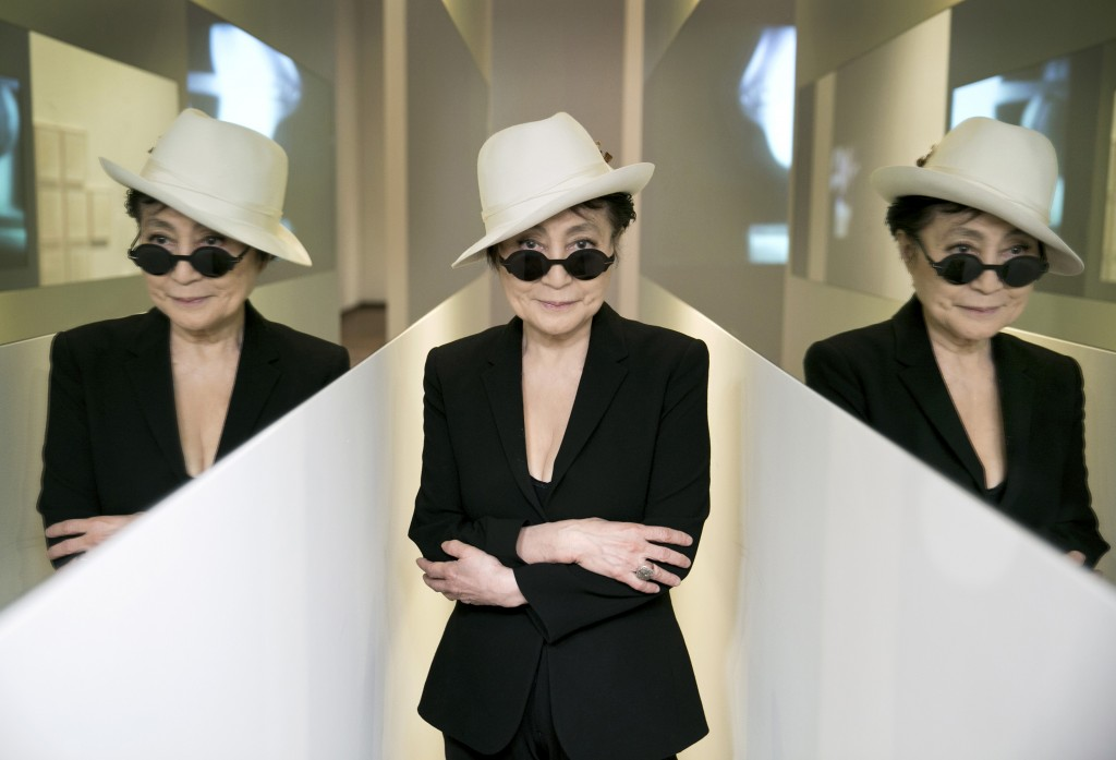 Yoko Ono på Louisiana.